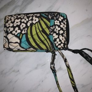 Vera Bradley Phone Wristlet and Wallet